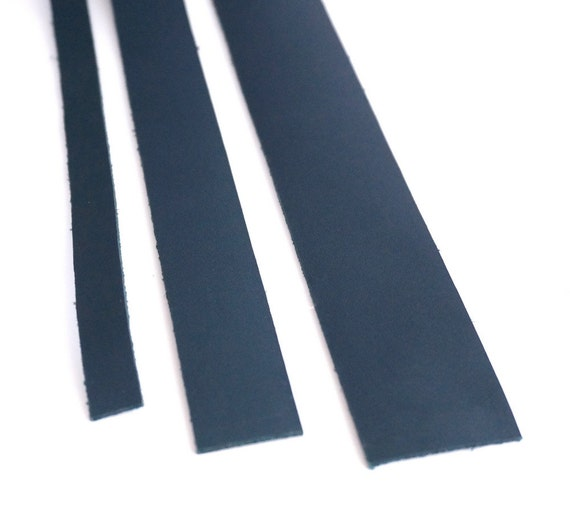 4 cm inches blue leather straps leather handles for bags anses cuir craft supplies. Black Bedroom Furniture Sets. Home Design Ideas