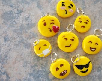 Polymer Clay Emoji Charms