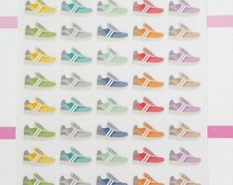 Running Shoe Planner Stickers Erin Condren Running Shoes Planner Stickers