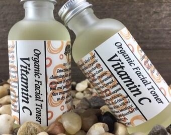 Vitamin C Facial Toner, Organic & Vegan