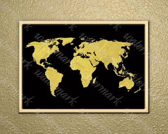 Items Similar To Printable Poster Gold Glitter Printable