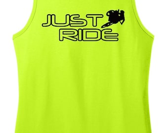 Just Ride Motocross Tank Top Singlet MX Moto Supercross