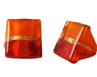 Murano Glass Ring 'Regina' by Mystery of Venice