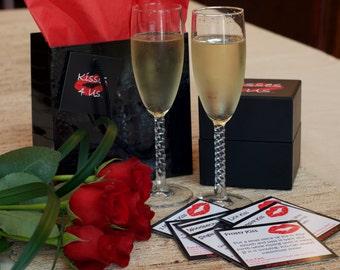 Kisses 4 Us®- Romantic Gift for Men- Romantic Gift for Him- Romantic Gift for Boyfriend- Romantic Gift for Husband