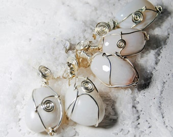 White quartz-amplifier of thought.