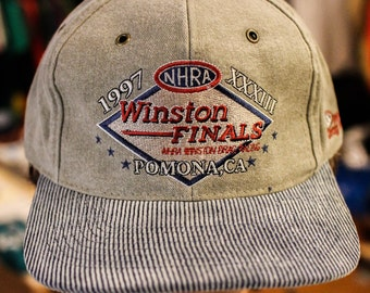 Winston Final Stapback hat DS w/tags 1996