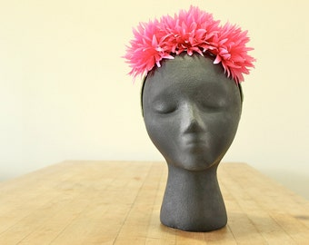 Pumky Pink, headband for guest in a wedding or special events