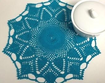 "Crochet Doilie 13-1/4"" (#03-04-4)"