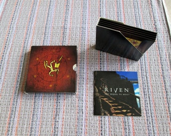 Riven / Sequel to Myst / 5 CDs / User's Manual / Windows 95 / Cyan, Inc