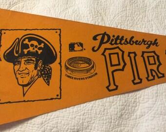 Pittsburgh Pirates Pennant Vintage