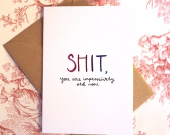 SH*T Birthday Card