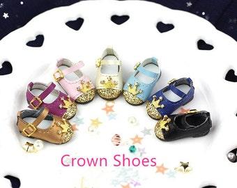 NEWEST Crown Shoes For Blythe / DAL / Pullip / Momoko/AZONE/ Lati_y/Pukifee