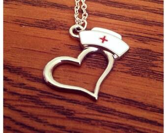 Heart Nurse Necklace