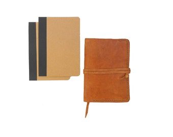 Leather cover for notebook