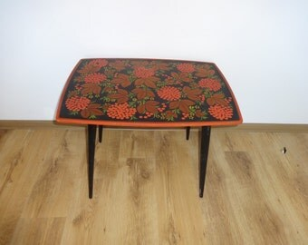 Vintage Coffee Table. Mid Century Side Table. End table from 1960s