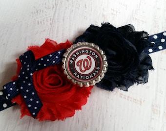 Washington Nationals mlb elastic headband baby - toddler - adult
