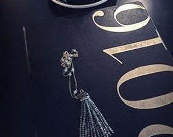 Crystals Tassel Long Necklace