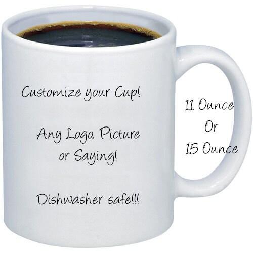 Personalized Coffee Mug Design Your Mug Coffee Mug