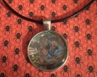 Tales from the Crypt comic Circle Necklace