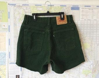 Swamp Green Shorts