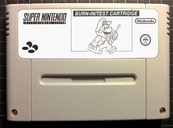Burn-in Test Cart Revision D, Tool for Super Nintendo SNES