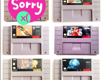 5 Game SNES Lot