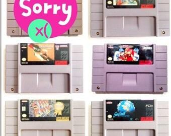 5 Game SNES Lot