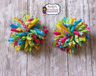 Plaid Hair Bows,Colorful Plaid Hair Bows,Corker Hair Bows,Korker Hair Bows,Colorful Corker Hair Bows,Colorful Korker Hair Bows,Corker Bows.