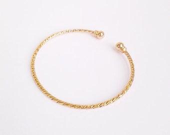 SALE --- Rose gold bracelet, bangle
