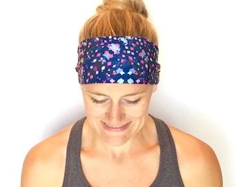 Yoga Headband - Running Headband - Workout Headband - Fitness Headband - Cosmos