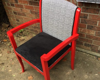 Upcycled modern chair