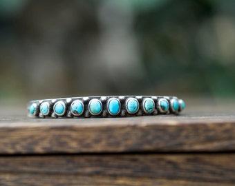Vintage Native American Turquoise Bracelet
