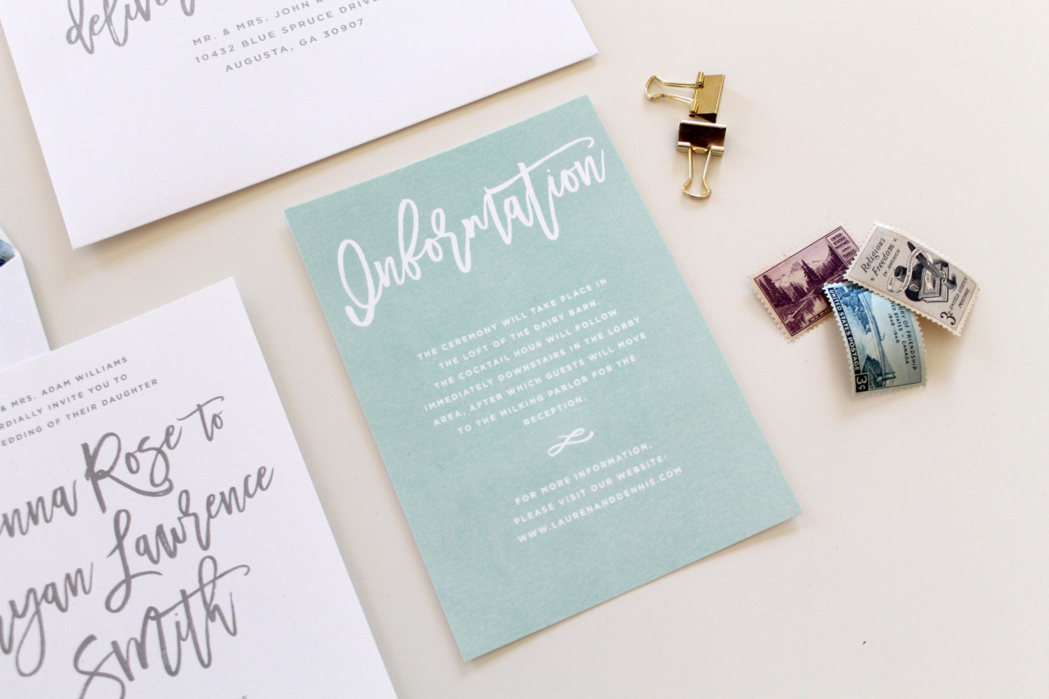 Wedding Gift Information Card : Planners Calligraphy Erasers & Sharpeners Gift Wrapping Greeting Cards ...