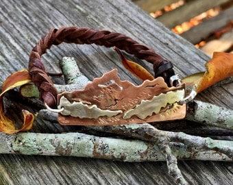 Elevation Bracelet or Mountain Bracelet