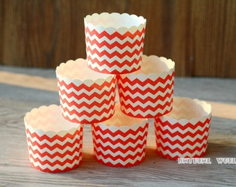 50 Wavy Baking Cups,Cupcake Liners,Cake Cups Candy Cups Paper Dessert Cups by Eskimo, Rainbow Party,Birthday Favor DIY Toppers,Wedding Favor
