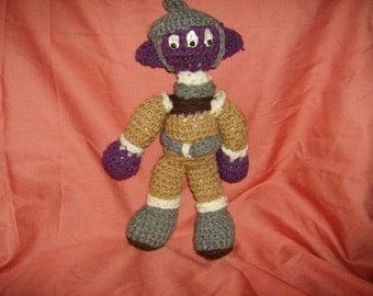 crochet moon creature