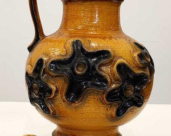 Gigantic floor vase by Carstens Tönnieshof, West German Pottery, 70ties