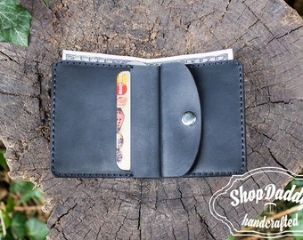 Leather Card Wallet, Small Wallet, Slim Wallet,Business Card,Leather Wallet,Coin Wallet,Leather Card,Pocket Wallet,Slim Design,Wallet,Bifold