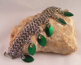 Scale Choker Bracelets.