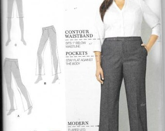 Womens Plus Size Pants/Shorts New Simplicity Pattern 8056 Sizes 20 Thru 28