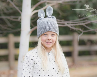 Bunny Hat, Easter Outfit, Bunny Ears, Easter Bunny Beanie, Sunday Funday, Church Hat, Baby Hats, Holiday Decor, Dress Up Clothes, Girls Hat