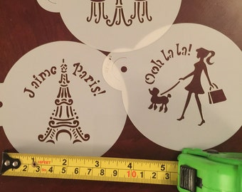 I love Paris stencils