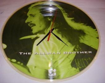 Vinyl Wall Clock ALLMAN BROS