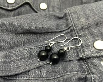 Rainbow Obsidian Earrings