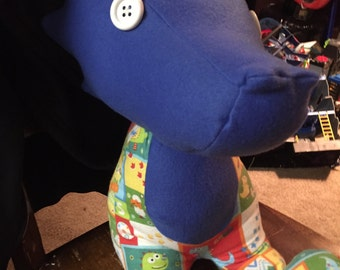 17 inch Dino plush custom design