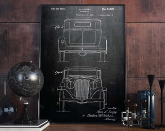 Automobile Prints| Patent Prints| Mechanic Gifts| Garage Decoration| Gift for Men| Car enthusiast Gifts| Man Cave Mens Gift| Wall Art|HPH018