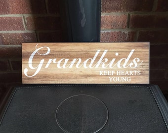 Wood Sign/plaque gift present Wall Art