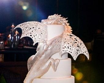 Custom 3D Printed Cake Toppers//Food Safe// Weddings, Anniversaries, Birthdays