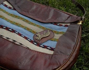 Vintage C. Emdad Leather Bag