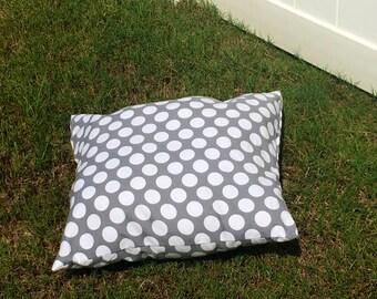 Pet bed pillow, dog bed pillow, dog pillow, cat pillow, prestuffed dog bed pillow